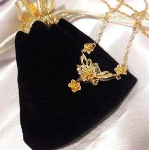 24k Gold Plated Over Sterling Silver